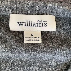 Cashmere Williams Crewneck Sweater